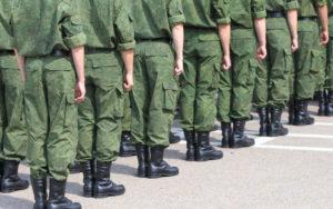 Число призывников в ВС РФ каждый год снижается