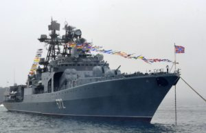 Корабли Тихоокеанского флота РФ прибыли в Манилу