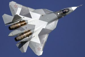 Истребитель пятого поколения Су-57 готов для экспорта в другие страны